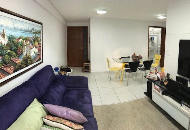 Apt com 3 quartos na Ponta Verde - 96m² - Foto 6