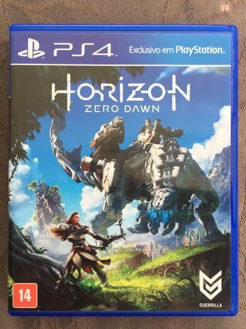 Jogos Ps4 Midia Fisica Horizon Zero Dawn Em Pt Envio Imediat