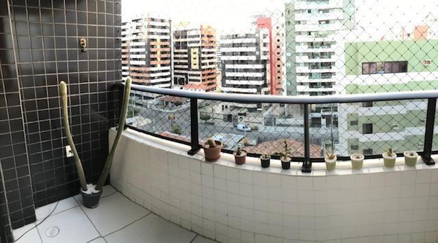 Apt com 3 quartos na Ponta Verde - 96m² - Foto 8