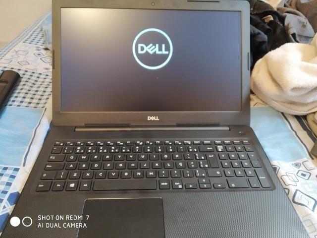 Notebook dell inspiron | i3 geração 7 | 4GB ram novo
