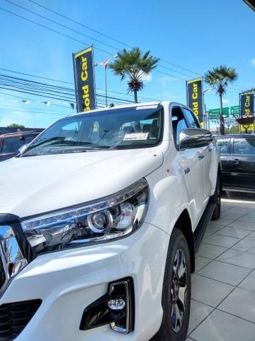 Toyota Hilux SRX 2020 ( Padrao Gold Car )