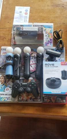 Jogos ps3 + jogos e acessórios realidade virtual - Foto 4