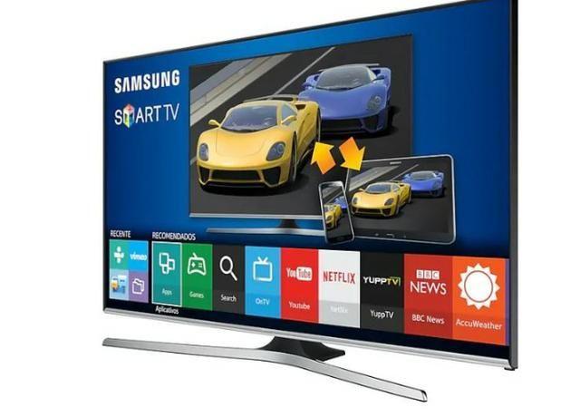 """Smart TV J5500 Series 5 48"""" Full HD, Procesador Quad Core, Função Futebol, 3 HDMI 2 USB"""