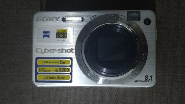 Câmera digital Cyber-Shot Sony 8.1 Mega Pixels