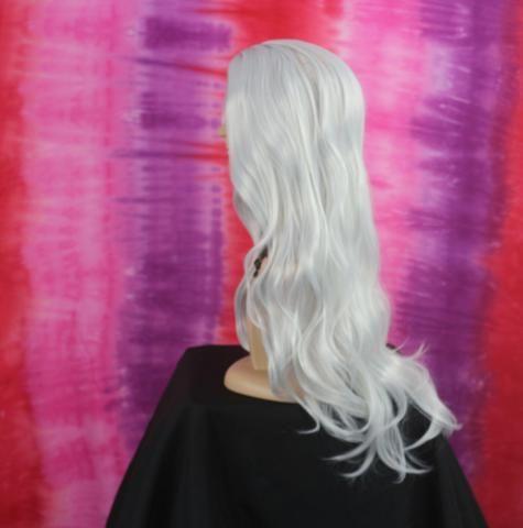 Peruca Wig Fibra Orgânica Branca - Foto 2