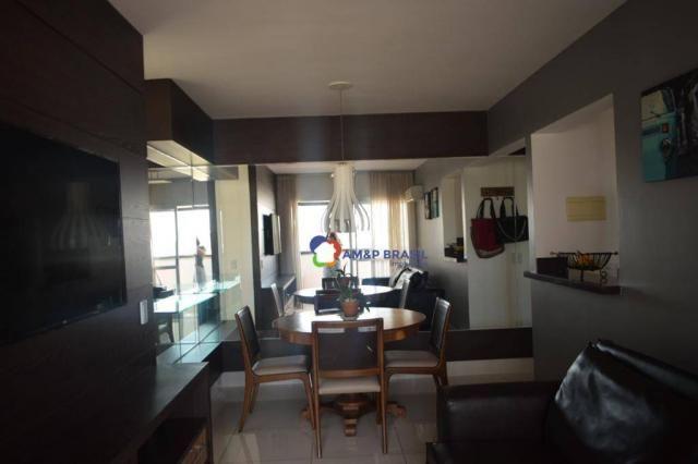 Apartamento com 2 dormitórios à venda, 69 m² por r$ 350.000 - jardim goiás - goiânia/go - Foto 2