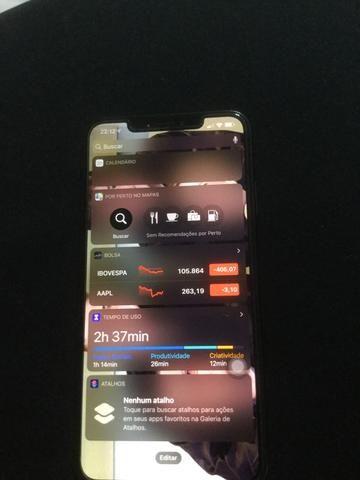 IPhone XS MAX 256 GB na garantia - Foto 2