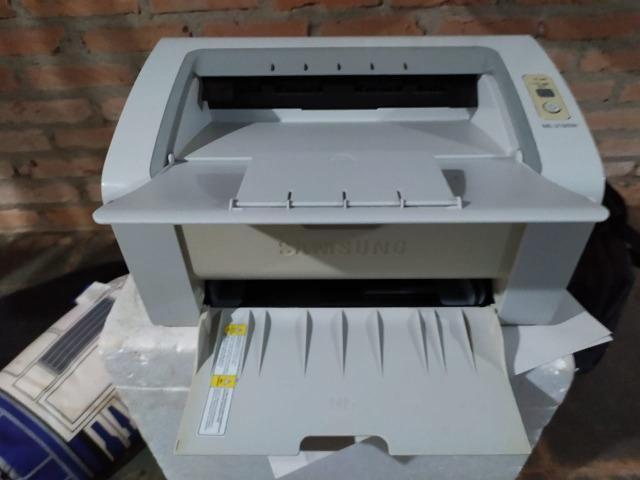 Impressora Laser Samsung ML 2165 W BW WiFi 110V Branca
