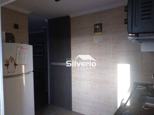 Apartamento com 2 dormitórios à venda, 50 m² por r$ 210.000 - vila rossi - são josé dos ca - Foto 3