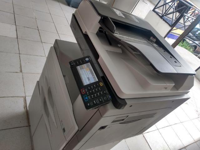 Copiadora e Impressora A3 Ricoh Aficio MP 2501sp Preto e Branco - Foto 2