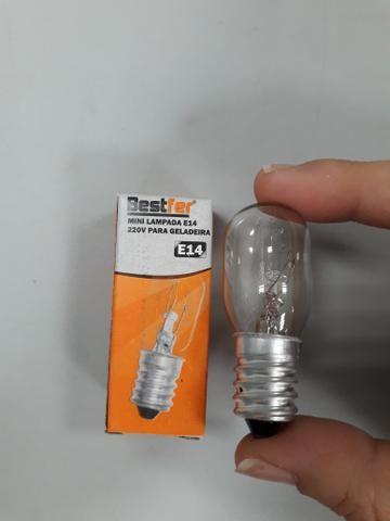 Mini Lâmpada E14 220v para Geladeira - Foto 2