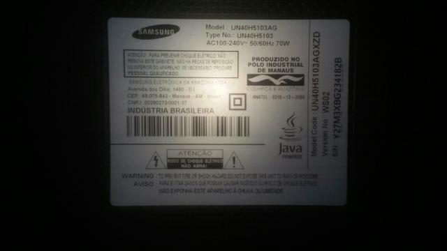 Tv led smart Sansung 40 - Foto 3