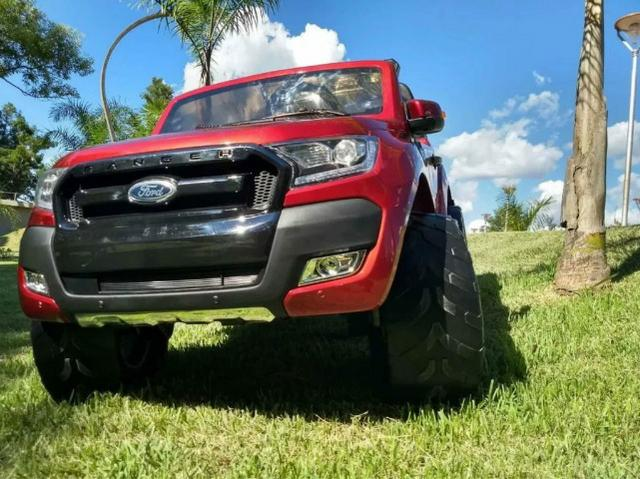 Carro Elétrico Infantil Ford Ranger Wild Track 12 volts. 4x4 Gigante Licenciado - Foto 3