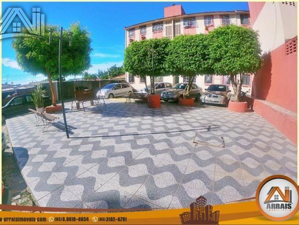 Apartamento com 2 quartos, 58m² na maraponga - Foto 3