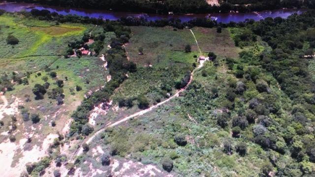 Fazenda 157 hectares na beira do rio Parauna