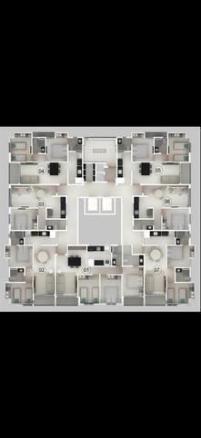 Apartamento em construção nos bancários de 1 e 2 e 3 quartos - Foto 3