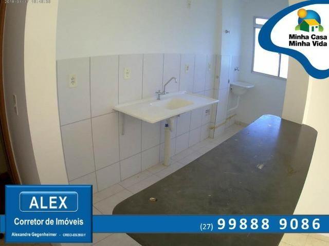 ALX - 45 - Apartamento com Subsídio de até R$ 23.200,00 e F.G.T.S como Entrada ? 2 Quartos - Foto 6