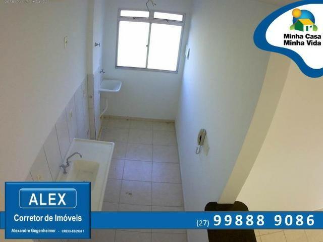 ALX - 45 - Apartamento com Subsídio de até R$ 23.200,00 e F.G.T.S como Entrada ? 2 Quartos - Foto 9