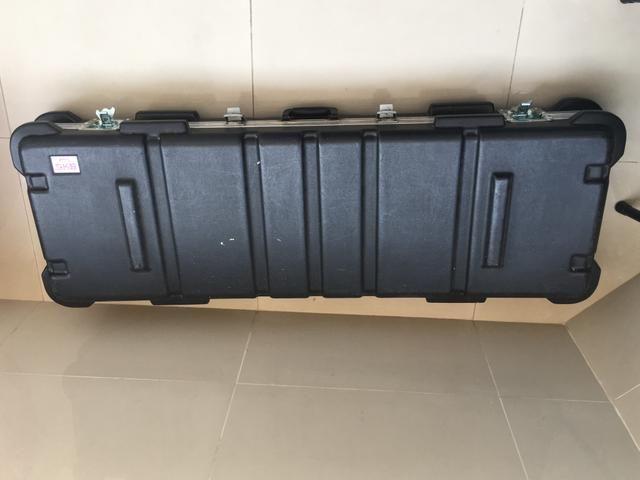 Hardcase para teclado de 61 e 76 teclas preço pra vender rápido! - Foto 3