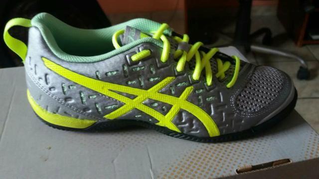 1ddcd91607 Tenis asics tamanho 34 novo sem uso - Roupas e calçados - Jardim ...