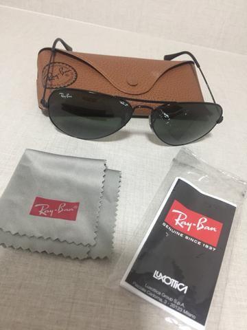 Óculos Ray-Ban Aviador Clássico Original - Bijouterias, relógios e ... a9738f6515