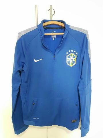 Jaqueta Nike Dri Fit Seleção Brasileira CBF - Roupas e calçados ... d8ce9d0177066