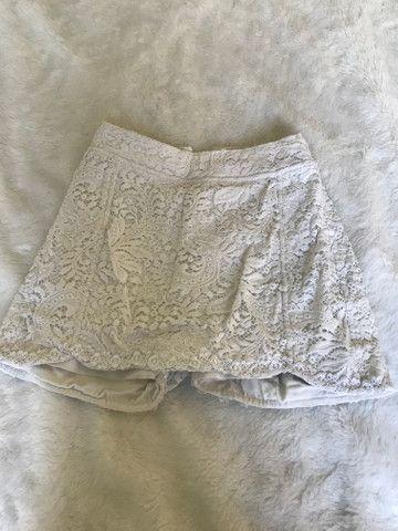Short saia de renda - Foto 2