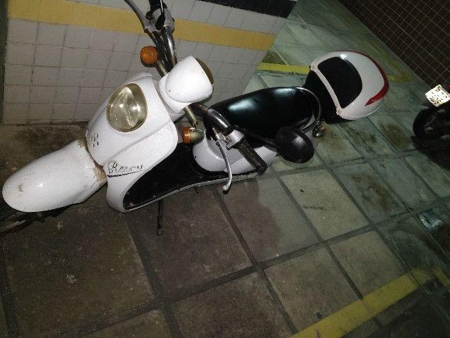Bicicleta/moto Elétrica sem cnh baixei pra vender e pegar em candeias  - Foto 5