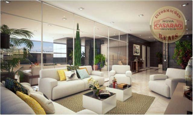 Apartamento com 2 dormitórios à venda, 77 m² por R$ 419.958 - Maracanã - Praia Grande - Foto 7