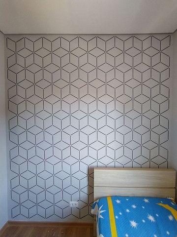 Pintura Decorativa - Tijolinho Rústico - Cimento Queimado - Foto 2