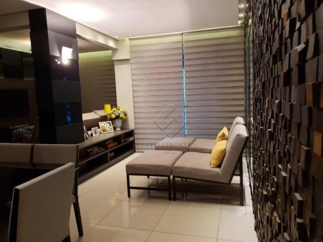 Apartamento com 2 dormitórios à venda, 79 m² por R$ 340.000,00 - Centro Sul - Cuiabá/MT - Foto 3
