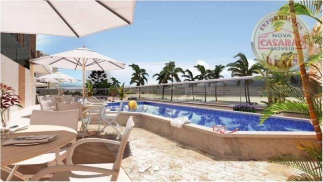 Apartamento com 2 dormitórios à venda, 77 m² por R$ 419.958 - Maracanã - Praia Grande - Foto 9