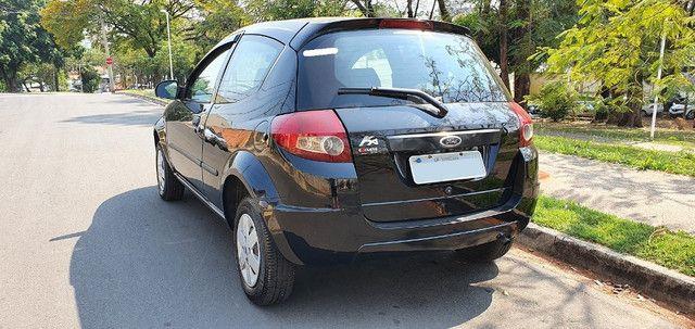 Ka 1.0 2011 Flex Super Econômico -Aceito Troca - Moleza Só 599 de Parcela Financiamento - Foto 9