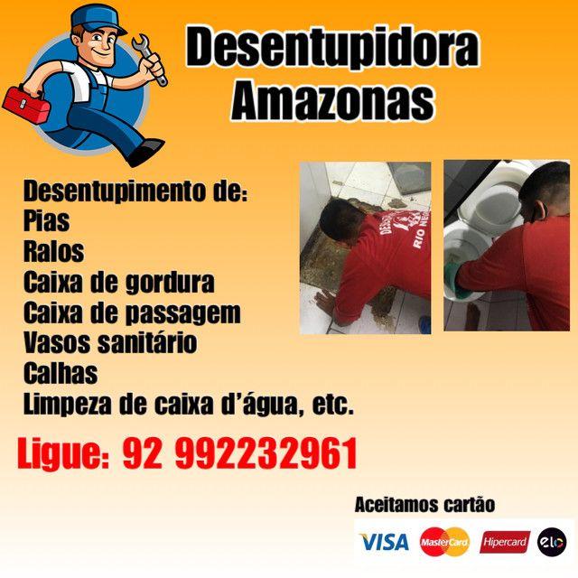 Desentupidora Amazonas 24horas a sua disposição