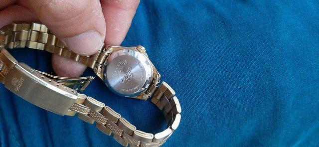 Relógio feminino oriente usado  - Foto 3