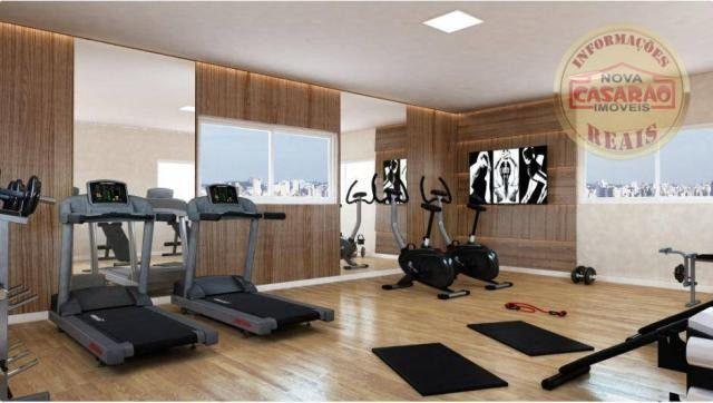 Apartamento com 2 dormitórios à venda, 77 m² por R$ 419.958 - Maracanã - Praia Grande - Foto 15