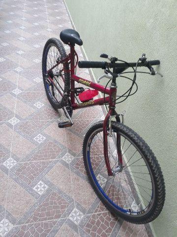 Bicicleta usada mas em ótimo estado e pegar e andar  - Foto 2