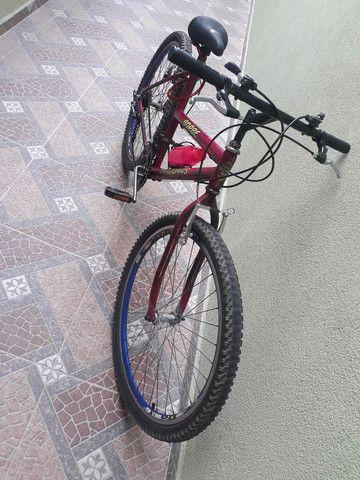 Bicicleta usada mas em ótimo estado e pegar e andar  - Foto 6