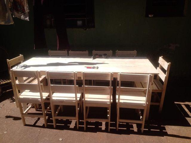 Mesas e banquinhos dobráveis  - Foto 3