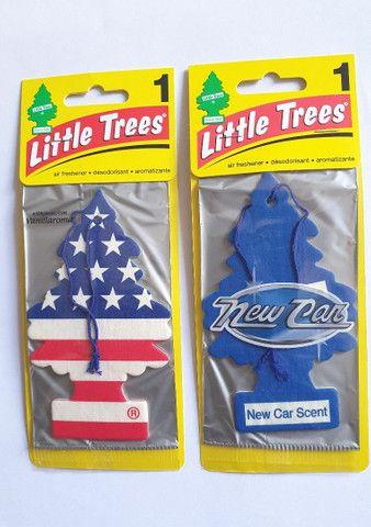 Little Trees Americano Aromatizante Vanilla Pride e New Car