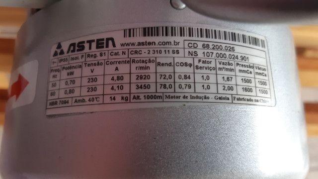 Compressor Radial Asten ou Oxigenador - Foto 3