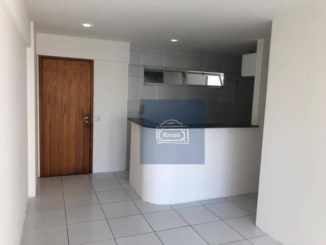 Apartamento para alugar, 48 m² por R$ 2.100,00/mês - Tamarineira - Recife/PE - Foto 2