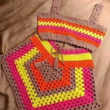 Conjunto bloguerinha feito sobre encomenda a cor da sua preferencia - Foto 2