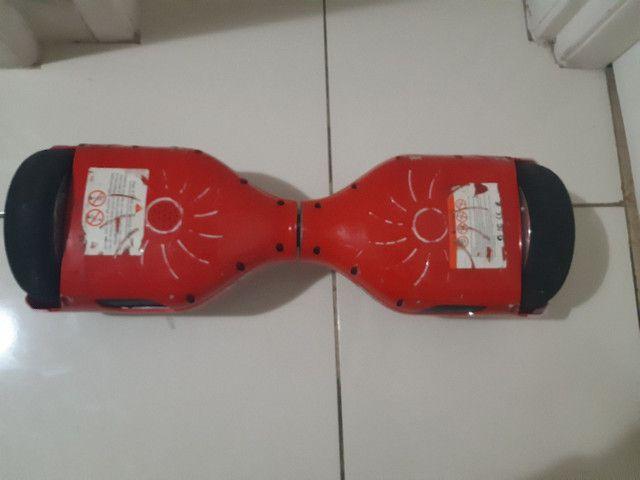 Hoverboard vermelho com bluetooth  - Foto 3