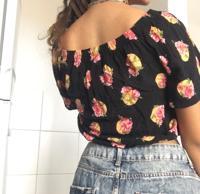 Blusa ciganinha florida - Foto 2