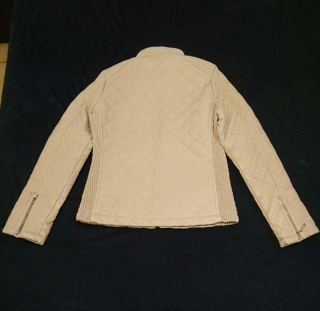 Jaqueta feminina via fino camurça tam. M - Foto 2