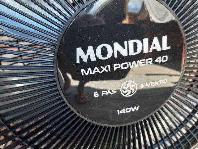 Ventiladores Novos 40cm aceito cartão e pix.. - Foto 2