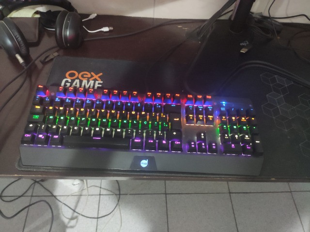 Teclado Mecânico Gamer Dazz Ballistic Seminovo na caixa - Foto 2