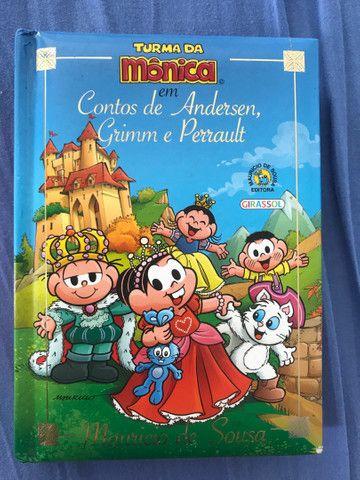 Livro Turma da Monica contos de fada