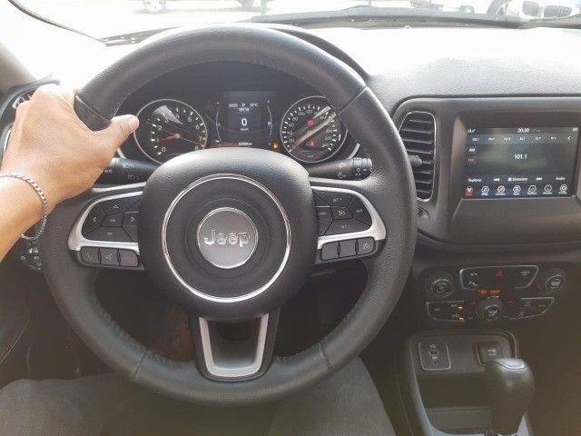 Jeep Compass Sport 2.0 Flex - 2018 - Novíssimo, Revisado e c/ Garantia - Foto 8